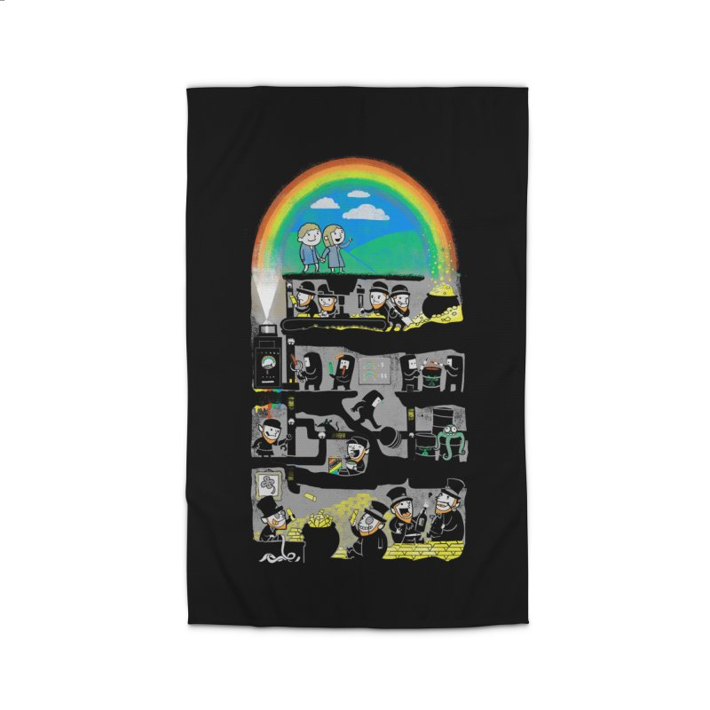 End of the Rainbow Home Rug by Made With Awesome