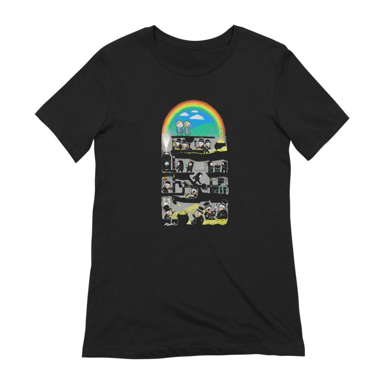 End of the Rainbow Women's T-Shirt by Made With Awesome