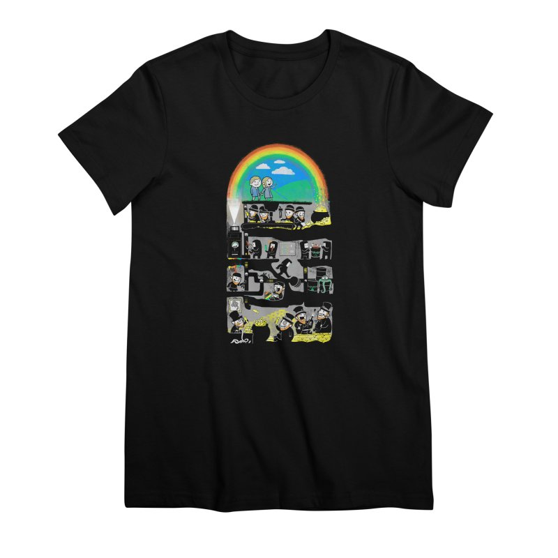 End of the Rainbow Women's Premium T-Shirt by Made With Awesome