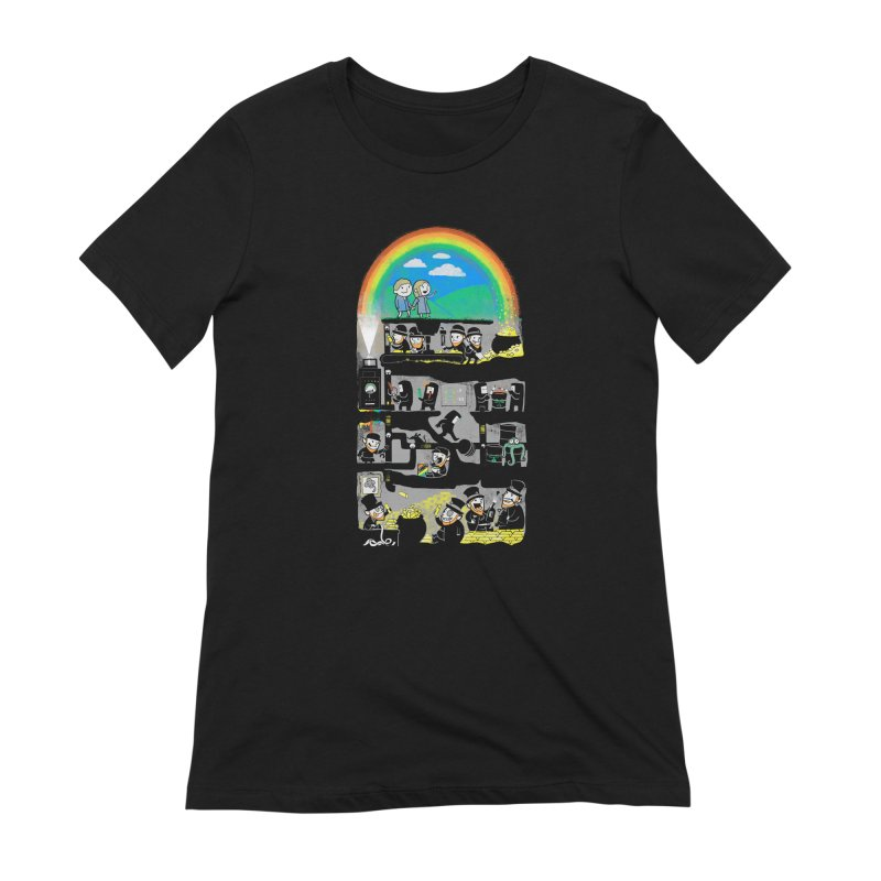 End of the Rainbow Women's Extra Soft T-Shirt by Made With Awesome