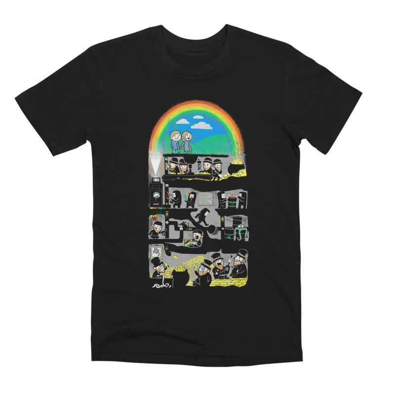 End of the Rainbow Men's Premium T-Shirt by Made With Awesome