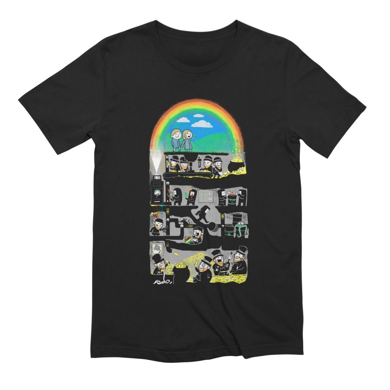 End of the Rainbow Men's Extra Soft T-Shirt by Made With Awesome