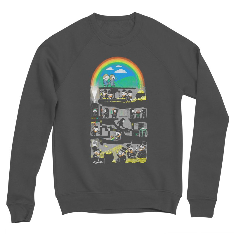End of the Rainbow Women's Sponge Fleece Sweatshirt by Made With Awesome