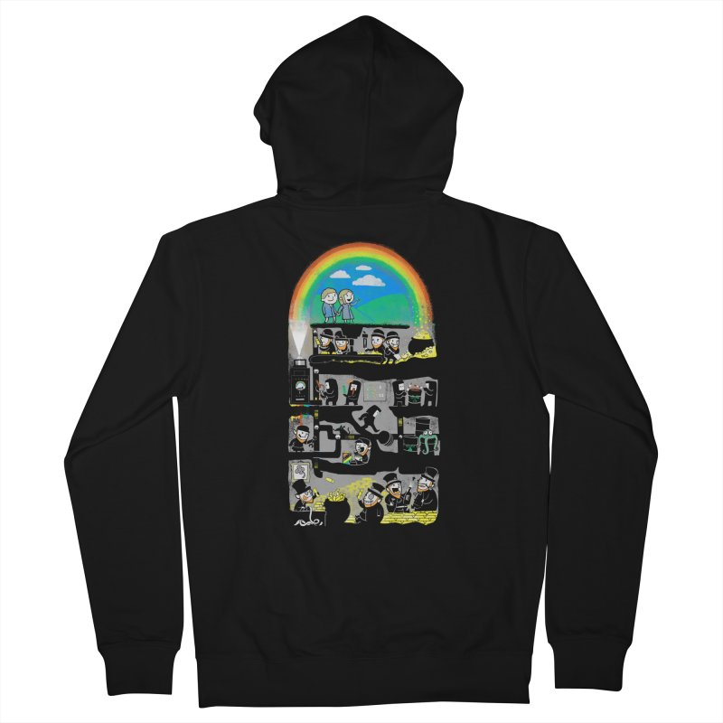 End of the Rainbow Women's Zip-Up Hoody by Made With Awesome
