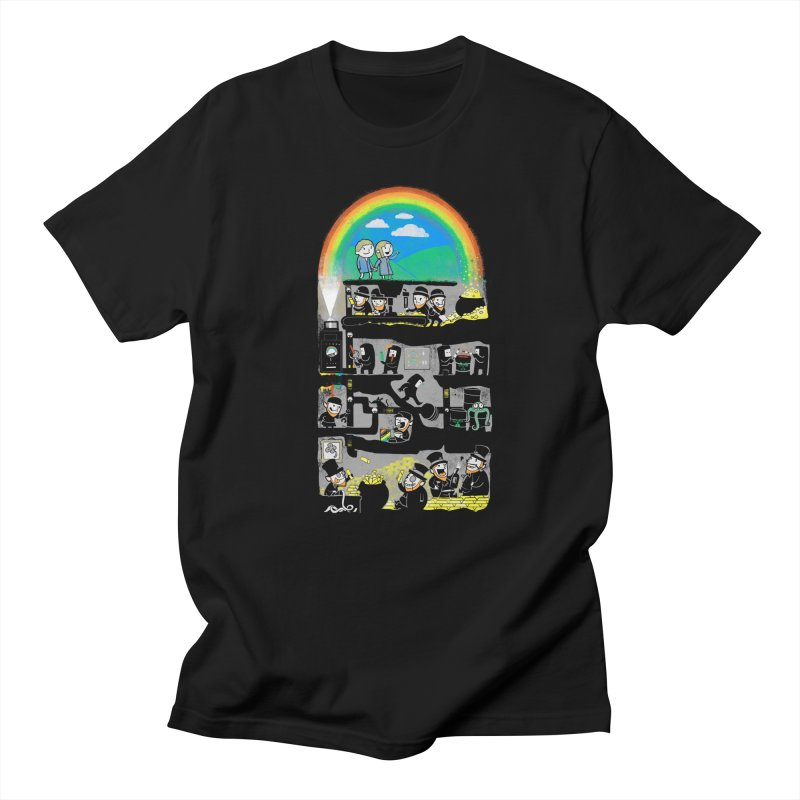 End of the Rainbow Men's T-Shirt by Made With Awesome