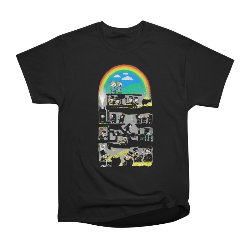 End of the Rainbow Women's Heavyweight Unisex T-Shirt by Made With Awesome