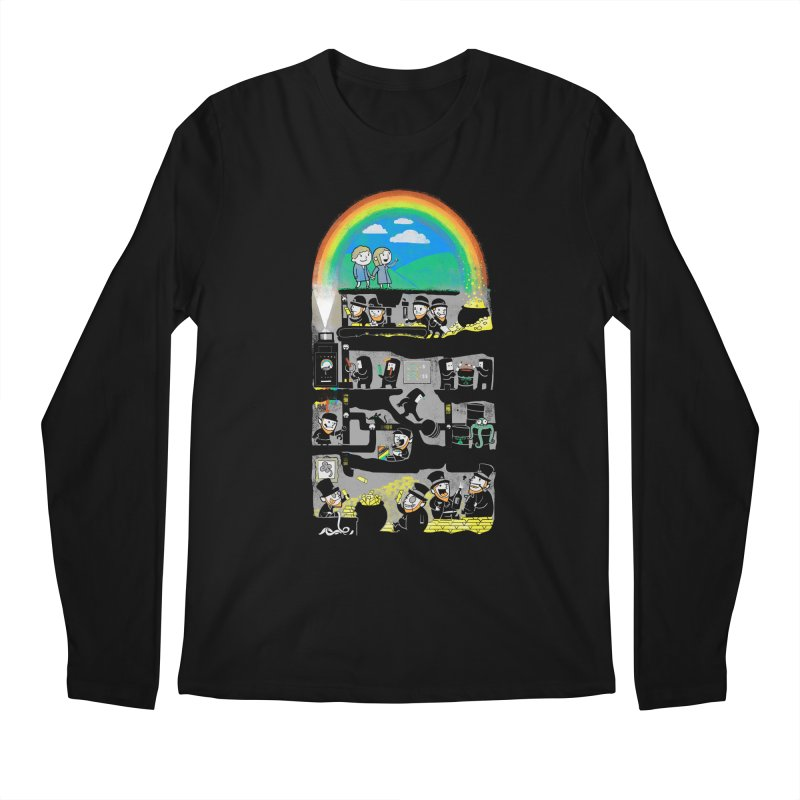 End of the Rainbow Men's Regular Longsleeve T-Shirt by Made With Awesome