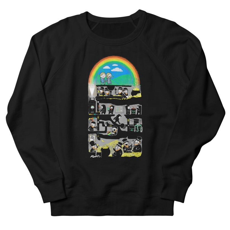 End of the Rainbow Men's French Terry Sweatshirt by Made With Awesome