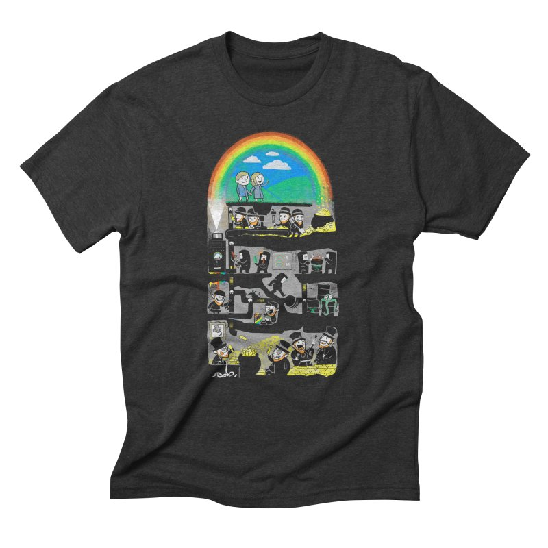 End of the Rainbow Men's Triblend T-Shirt by Made With Awesome