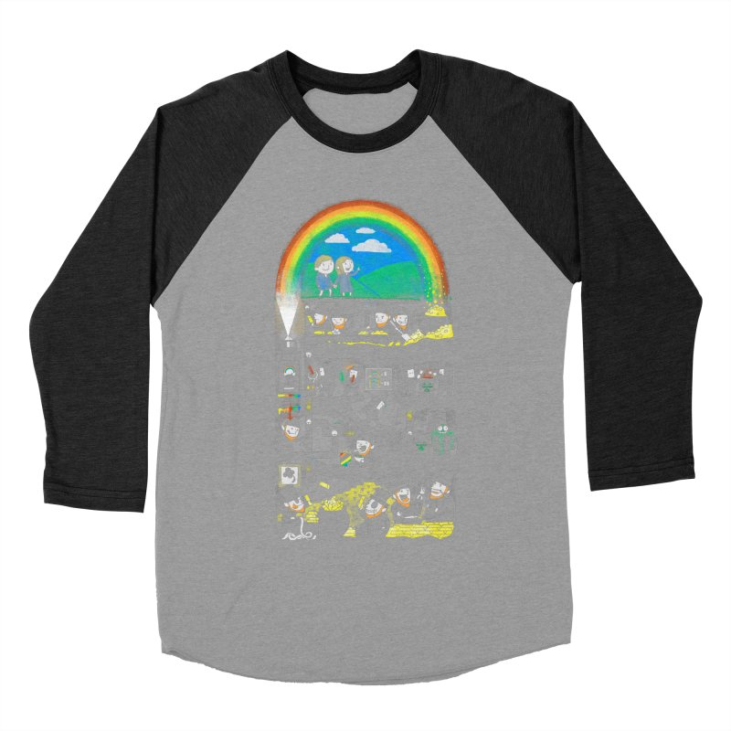 End of the Rainbow Women's Baseball Triblend Longsleeve T-Shirt by Made With Awesome