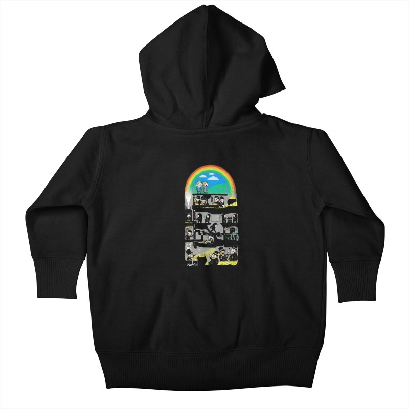 End of the Rainbow Kids Baby Zip-Up Hoody by Made With Awesome