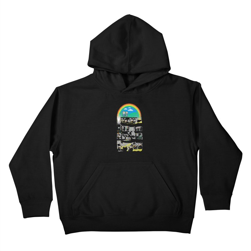 End of the Rainbow Kids Pullover Hoody by Made With Awesome