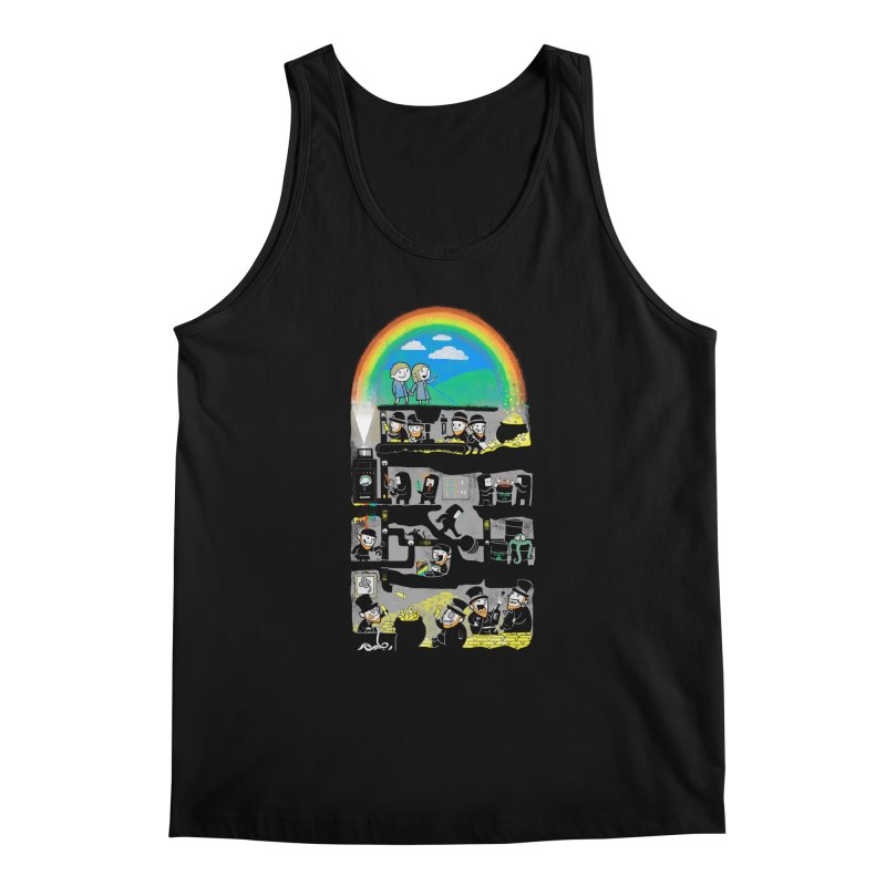 End of the Rainbow Men's Regular Tank by Made With Awesome