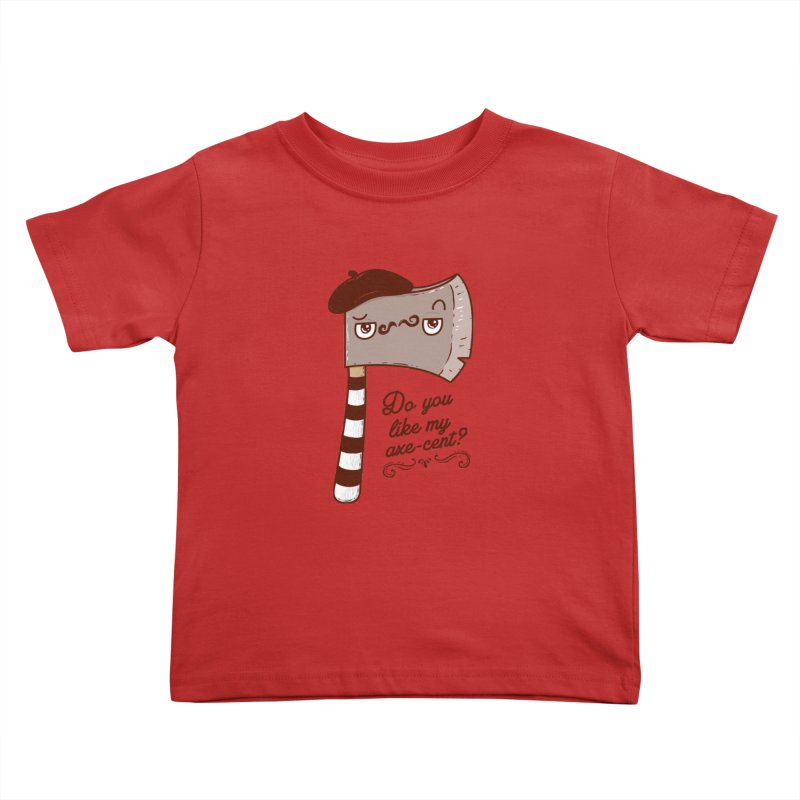 Pardon My French Kids Toddler T-Shirt by Made With Awesome