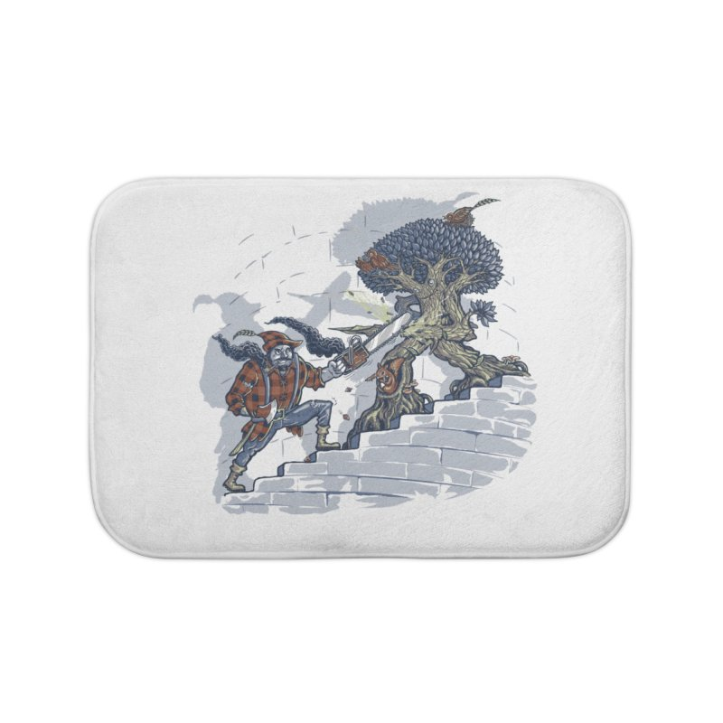 The Never Ending Duel Home Bath Mat by Made With Awesome