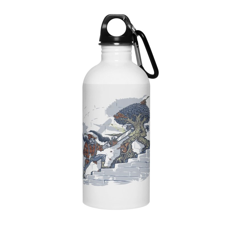 The Never Ending Duel Accessories Water Bottle by Made With Awesome