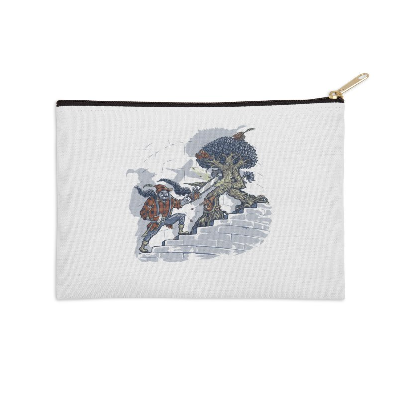 The Never Ending Duel Accessories Zip Pouch by Made With Awesome