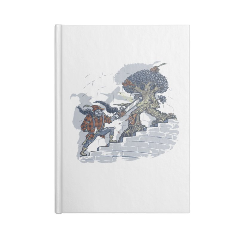 The Never Ending Duel Accessories Blank Journal Notebook by Made With Awesome