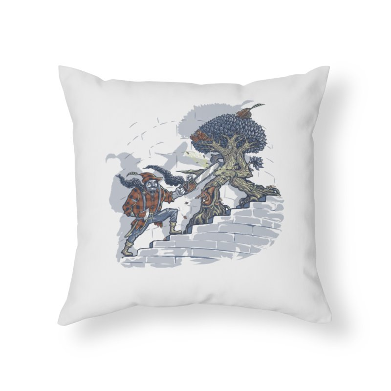 The Never Ending Duel Home Throw Pillow by Made With Awesome