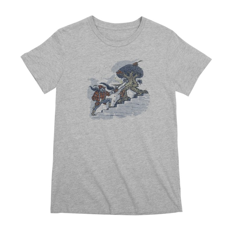 The Never Ending Duel Women's Premium T-Shirt by Made With Awesome