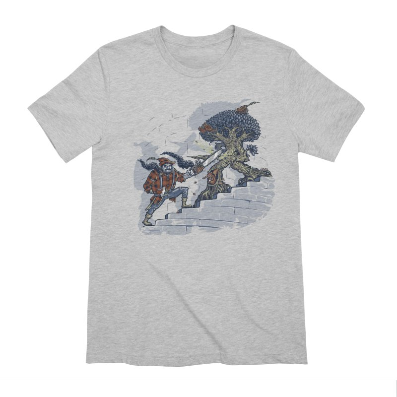 The Never Ending Duel Men's Extra Soft T-Shirt by Made With Awesome