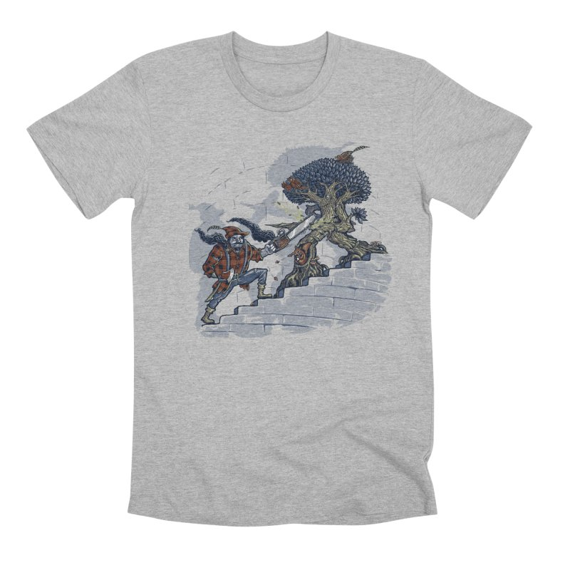 The Never Ending Duel Men's Premium T-Shirt by Made With Awesome