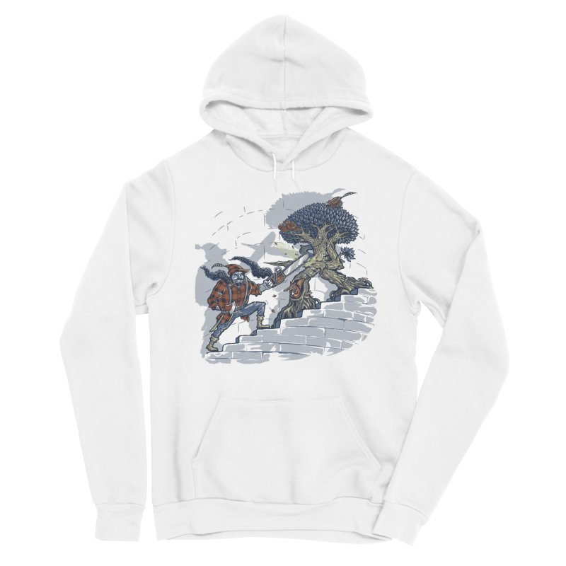 The Never Ending Duel Men's Sponge Fleece Pullover Hoody by Made With Awesome