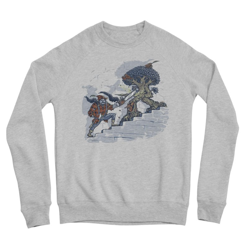The Never Ending Duel Men's Sponge Fleece Sweatshirt by Made With Awesome