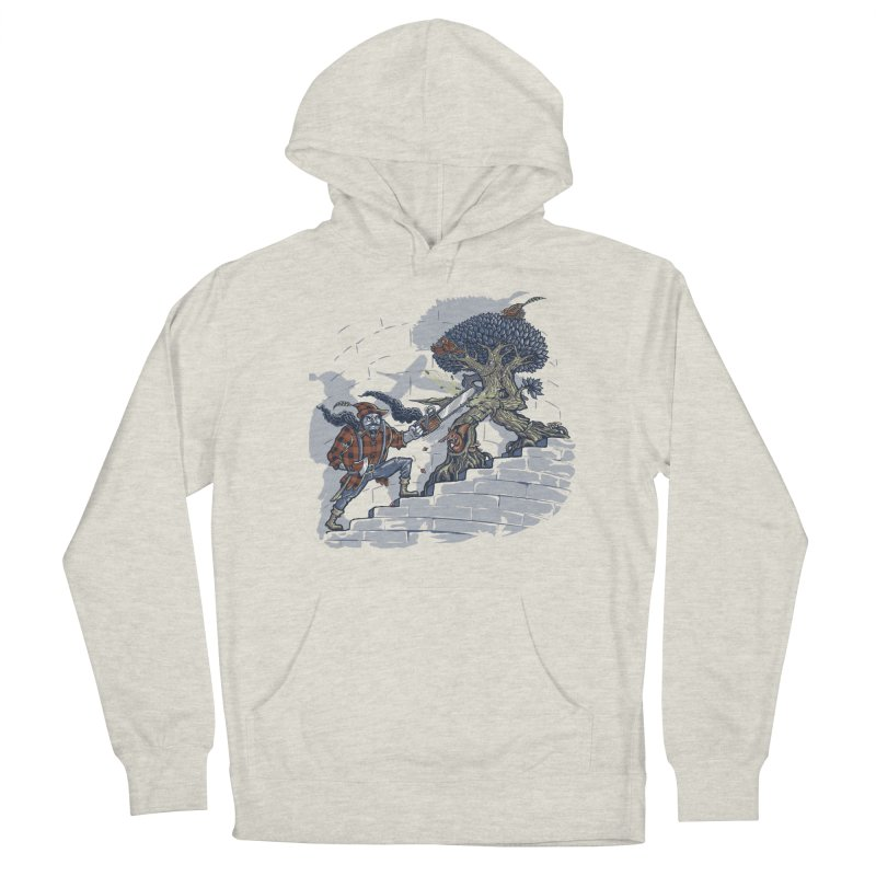 The Never Ending Duel Men's French Terry Pullover Hoody by Made With Awesome