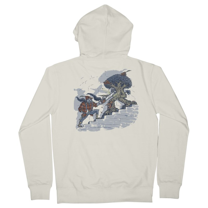 The Never Ending Duel Men's French Terry Zip-Up Hoody by Made With Awesome