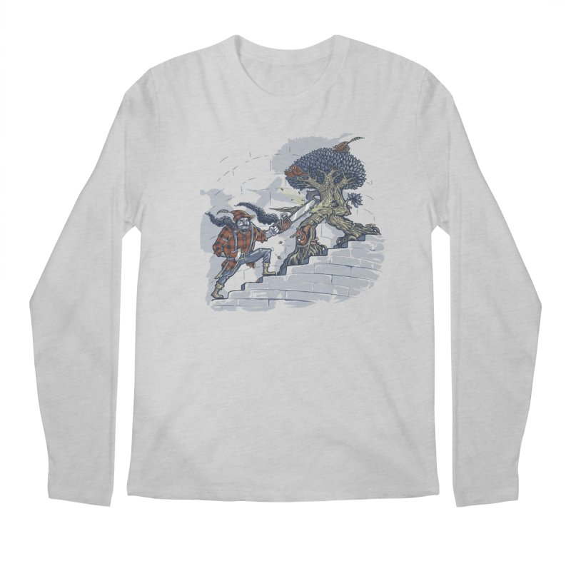 The Never Ending Duel Men's Regular Longsleeve T-Shirt by Made With Awesome