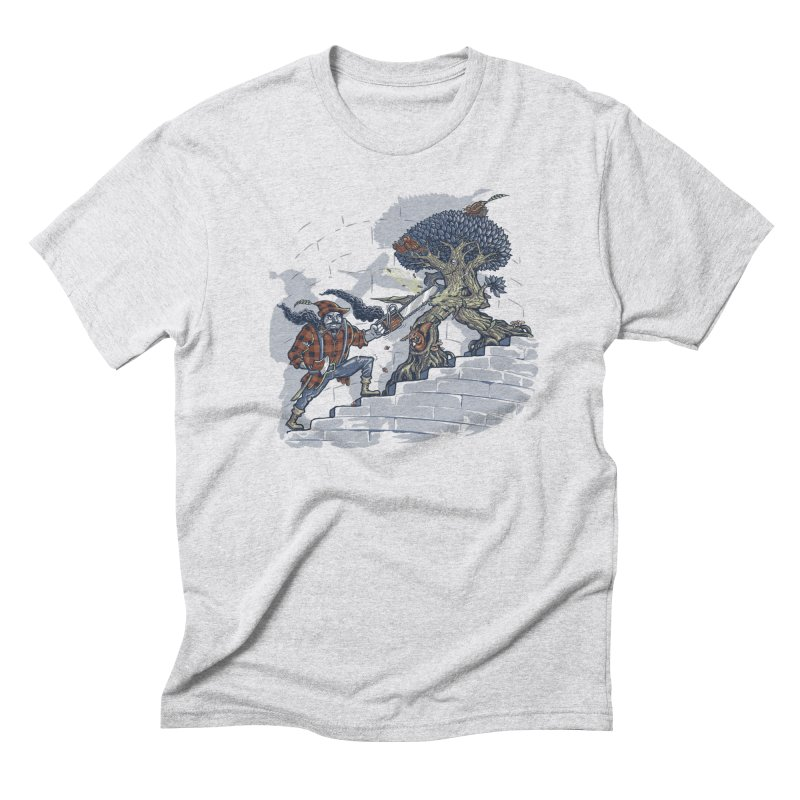 The Never Ending Duel Men's Triblend T-Shirt by Made With Awesome