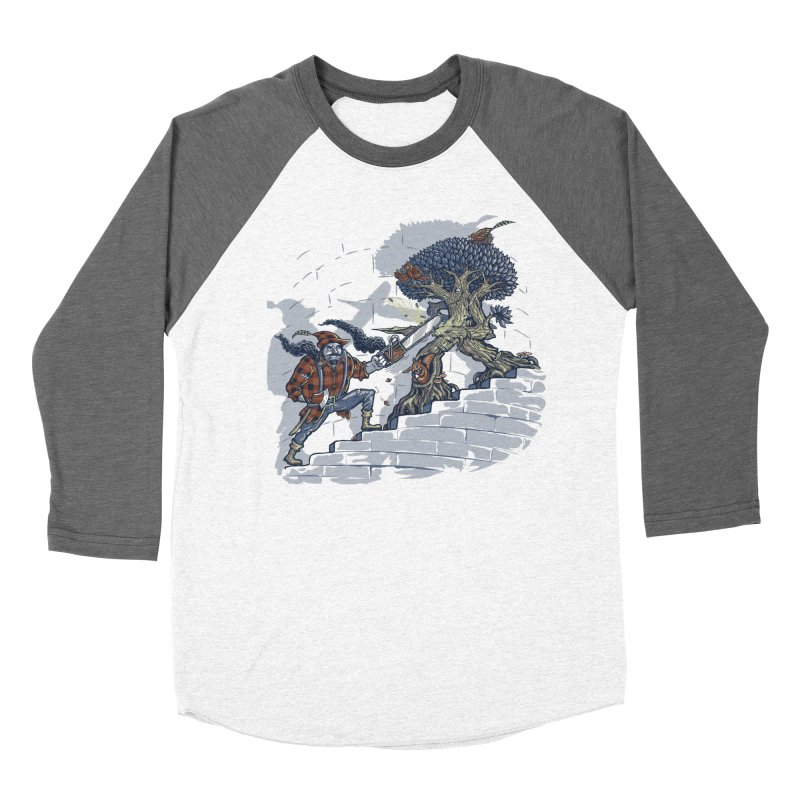 The Never Ending Duel Men's Baseball Triblend Longsleeve T-Shirt by Made With Awesome
