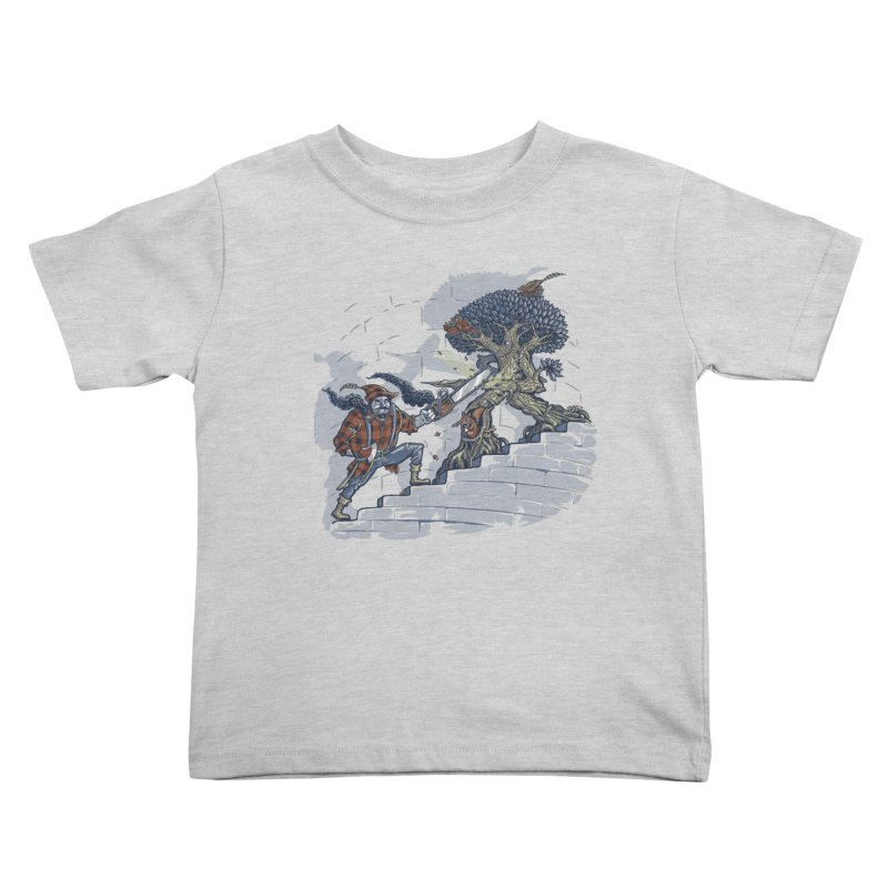 The Never Ending Duel Kids Toddler T-Shirt by Made With Awesome
