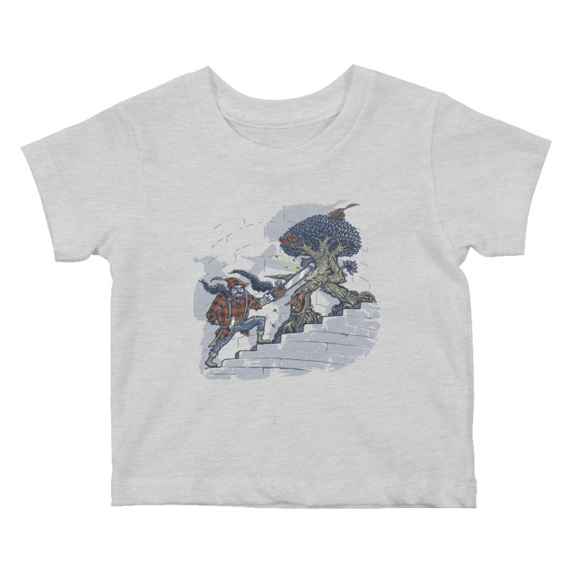 The Never Ending Duel Kids Baby T-Shirt by Made With Awesome
