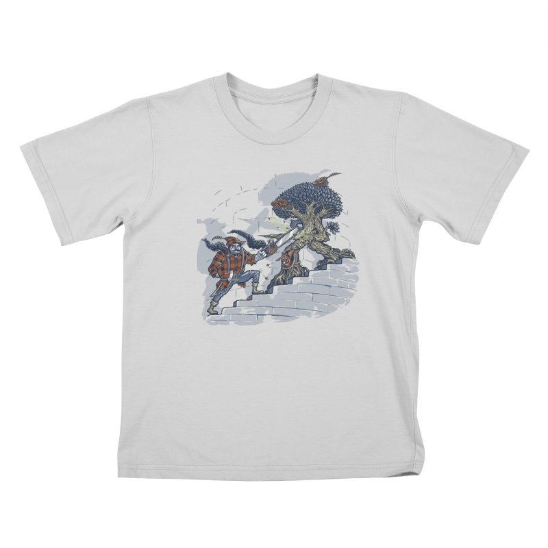 The Never Ending Duel Kids T-Shirt by Made With Awesome