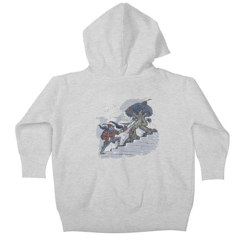 The Never Ending Duel Kids Baby Zip-Up Hoody by Made With Awesome
