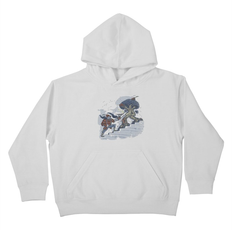 The Never Ending Duel Kids Pullover Hoody by Made With Awesome