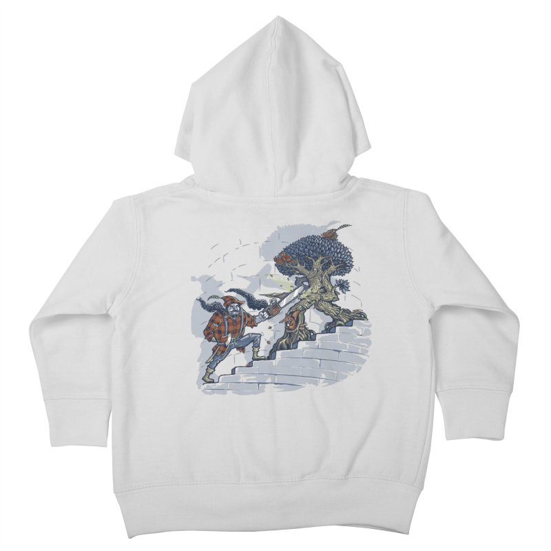 The Never Ending Duel Kids Toddler Zip-Up Hoody by Made With Awesome