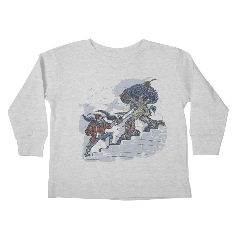 The Never Ending Duel Kids Toddler Longsleeve T-Shirt by Made With Awesome