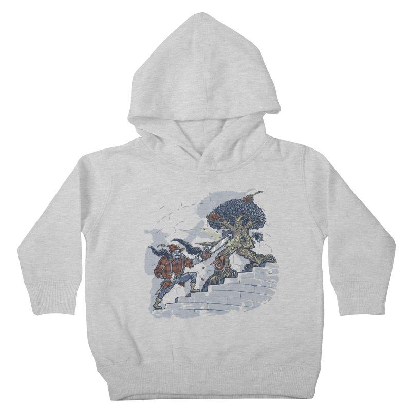 The Never Ending Duel Kids Toddler Pullover Hoody by Made With Awesome