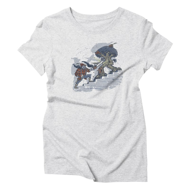 The Never Ending Duel Women's Triblend T-Shirt by Made With Awesome