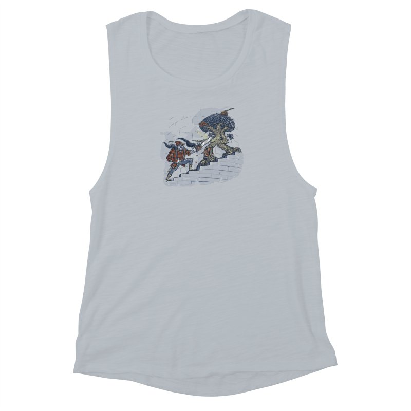 The Never Ending Duel Women's Muscle Tank by Made With Awesome