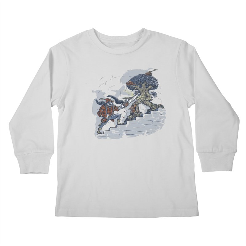 The Never Ending Duel Kids Longsleeve T-Shirt by Made With Awesome