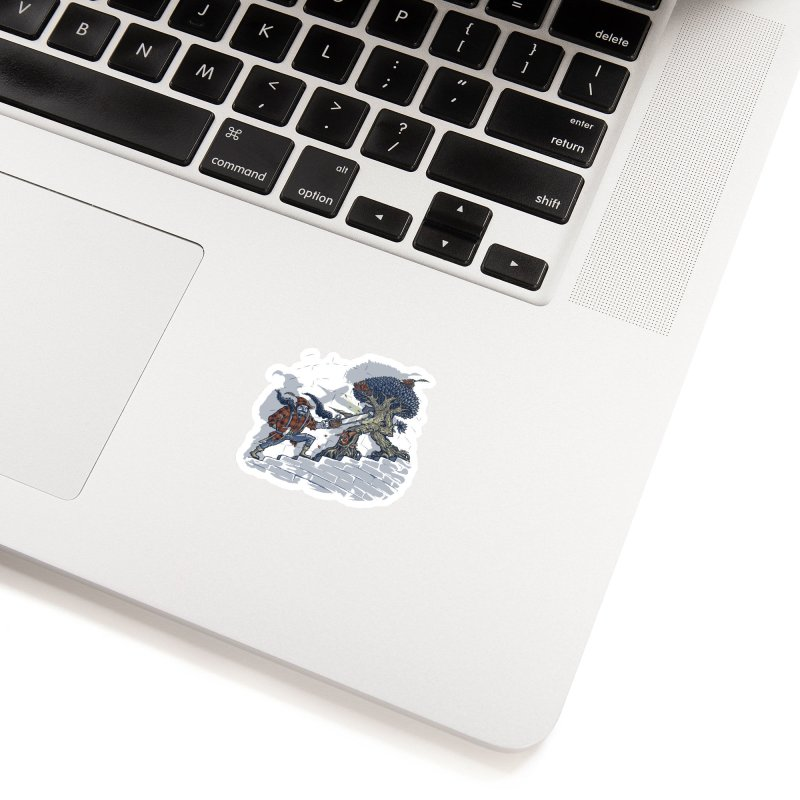 The Never Ending Duel Accessories Sticker by Made With Awesome