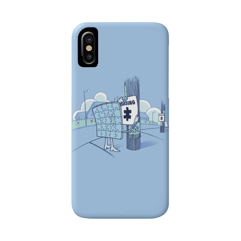 Missing Accessories Phone Case by Made With Awesome