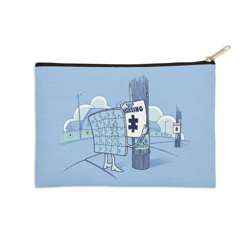 Missing Accessories Zip Pouch by Made With Awesome