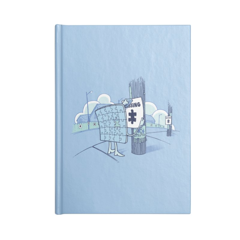 Missing Accessories Blank Journal Notebook by Made With Awesome