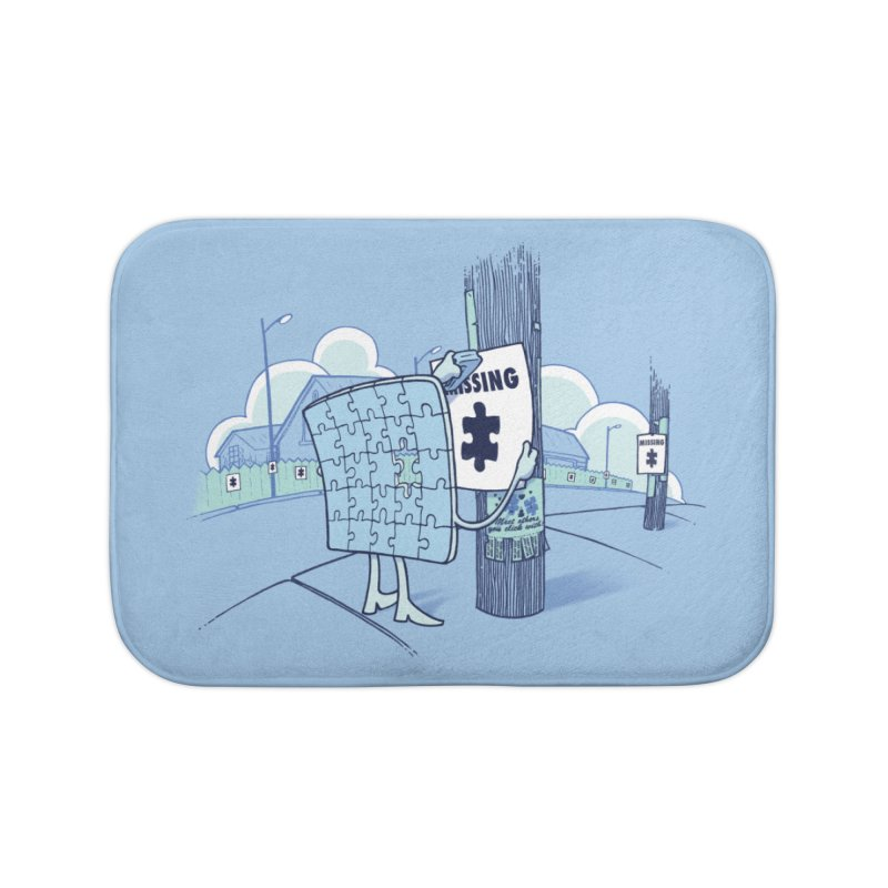 Missing Home Bath Mat by Made With Awesome