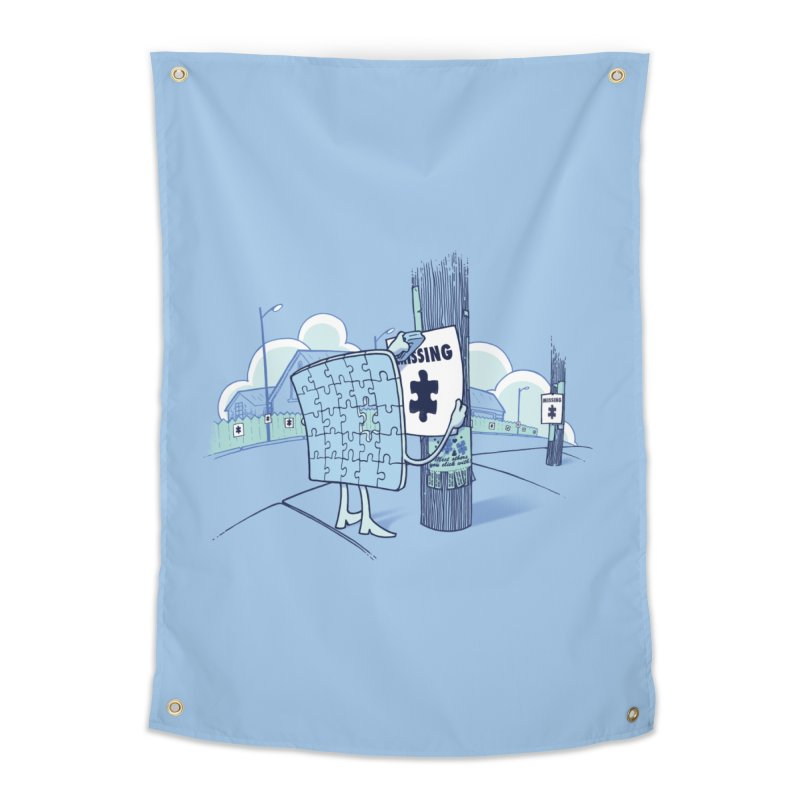 Missing Home Tapestry by Made With Awesome